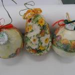Благотворителна акция - Великденски яйца - папие маше