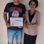 Лъчезар Личев 11в клас - Национален кръг на олимпиада по АЕ, преподавател Гергана Данова