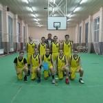 Баскетбол - юноши - VIII-Хклас - I място - Общинско първенство - ръководител Пламен Нанков