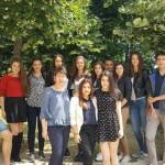 Първите носители на Немска езикова диплома в ГПЧЕ-Плевен с преподавател Румяна Стаменова