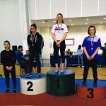 Таня Ластарджиева от IXд клас се класира на ТРЕТО място на републиканското държавно първенство за кадети - 14.04.2018г.