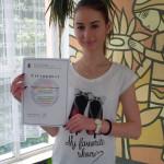 Мария Анжело Георгиева, 11д, Национална олимпиада по немски език, преподавател Йорданка Иванова