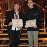 Ивайло Георгиев  от 9д клас , класирал се на Националната олимпиада по география и икономика, преподавател Силвич Стоянова