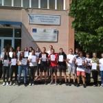 Ученици от 11.д клас с немска езикова диплома DSD1