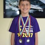 Валентин Филипов - III б клас - Първо място на Математически звезди 2017г.