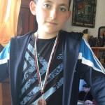 Антоний Стефанов от 7а клас - трето място на Държавното първенство (ДИП) по тенис на маса в гр.Горна Оряховица