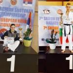 Мирела Йолова от 9в клас и Марк Томов - Европейски шампиони на кумите 2017г.