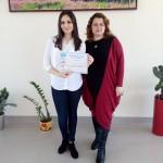 Ана Филипова от 11а клас спечели 3-то място в страната на Creative writing competition в нейната възрастова група, преподавател Даниела Цанкова – старши учител по английски език
