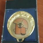 Бронзов медал за Пламен Георгиев от 12 д клас от XVII национално състезание по природни науки  и екология - 24-25.11.2018 г. - гр. Видин