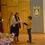 "Денис Алфарес, 3а клас, конкурс ""Моето Коледно послание"", 2012 година"
