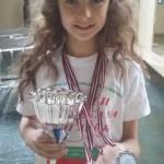Първо място за Елизабет Захариева от 4.в клас, за авторска песен и две втори места в направление Световен хит и Песен от латвийски композитор на Музикалният фестивал в Рига, Латвия