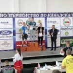 Два златни медала за Симон Шарабански от 10.д клас от XXV държавно първенство по канадска борба, 14 - 16.05.2021г., гр. Белоградчик