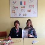 Ева Петкова от 12е клас - Лауреат на Националната олимпиада по френски език