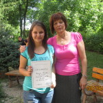 Димана Цветелинова Дачева - 3-то място на Национален конкурс по превод - учител Румяна Гетманова