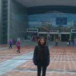 "Маринела Йорданова - 9.д клас - победител в конкурса ""Европейско междучасие""- 20-22 март 2016г., Брюксел"
