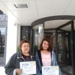 Маргарита Янева от 8ж клас - Сертификат за участие в XXXIII национална олимпиада по техническо чертане