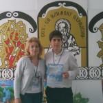 Илиян Минев - XIа клас - с отличие от Националната ученическа конференция по гражданско образование с ръководител Силвия Стоянова, старши учител по география и икономика