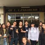 Ученици от ПГПЧЕ - Плевен взеха участие в Националното състезание по речи и дебати на английски език на 21-23 април 2017 г. в гр. Варна. 9 ученици са Национални шампиони в дивизия Малък отбор за годината 2017,  а Латина Пенкова - XIб клас  е национален шампион и зае 1 място за Реч и 3-то за Поезия, и Кристиан Ценов - XIIд клас се класира 5-ти на Поезия.