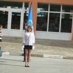Тържествено изнасяне на знамето на ГПЧЕ