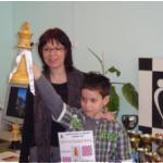 Стилиян Нановски, 3a клас, Сребърен медал на ускорен шах