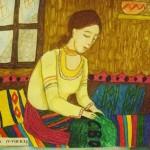 """Яна Петкова от 7б клас спечели трета награда от Национален конкурс за детска рисунка """"Освобождението"""" - 2010г."""