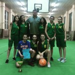 Общинско първенство по баскетбол - девойки - I място - ръководител Пламен Нанков