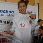 Христиана Попова – ІV б клас - ІІІ място, бронзов медал - бягане 60м, кл. р-л: Искра Арабаджиева