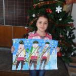 Инна Чулева от Іа клас - поощрителна награда за рисунка