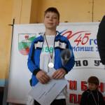Мартин Лазаров – ІІІ а клас - І място, златен медал – скок дължина, кл. р-л: Елена Великова