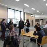 Среща с директора на училището в Шалон