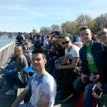 На корабче по Сена