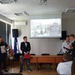 Речите на К. Стоилов и П. Славейков, представени от Борис и Лазар от 11б