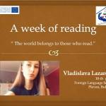 Владислава Лазарова, 10е клас